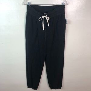 Free People Pants & Jumpsuits - NWT Free People Black Slouch Jogger Pants Sz Small